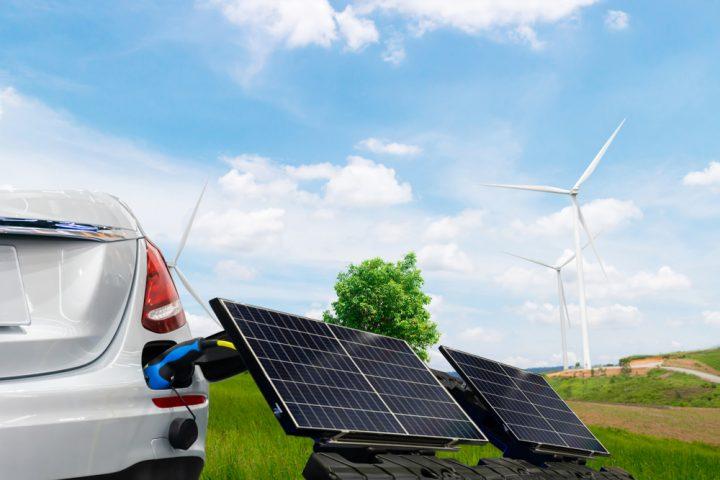 Voiture électrique à L'énergie Solaire