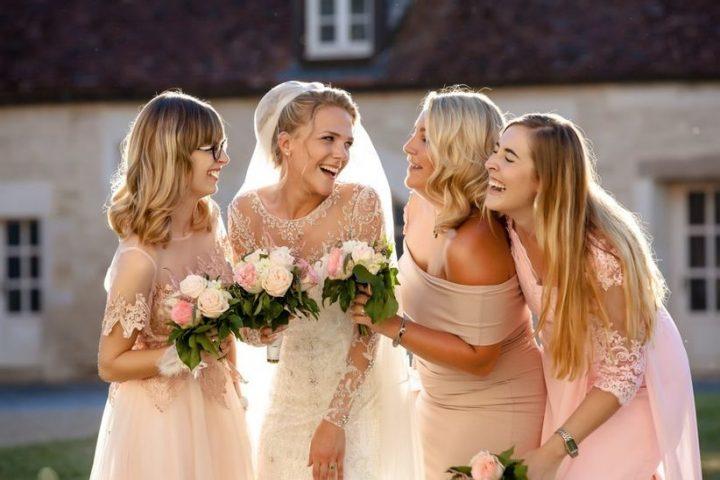 demoiselles d'honneur dans un mariage